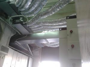 Τρία νέα κλιματιστικά με κανάλια τοποθετήθηκαν τον Αύγουστο στη χαρτοβιομηχανία MAXI για την ψύξη ηλεκτρονικών πινάκων