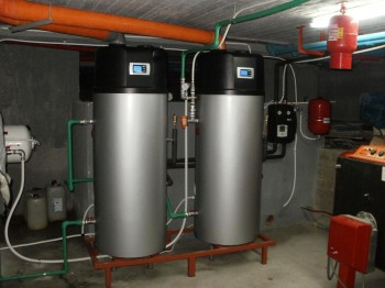 boiler με αντλια θερμοτητας στο olympic studios