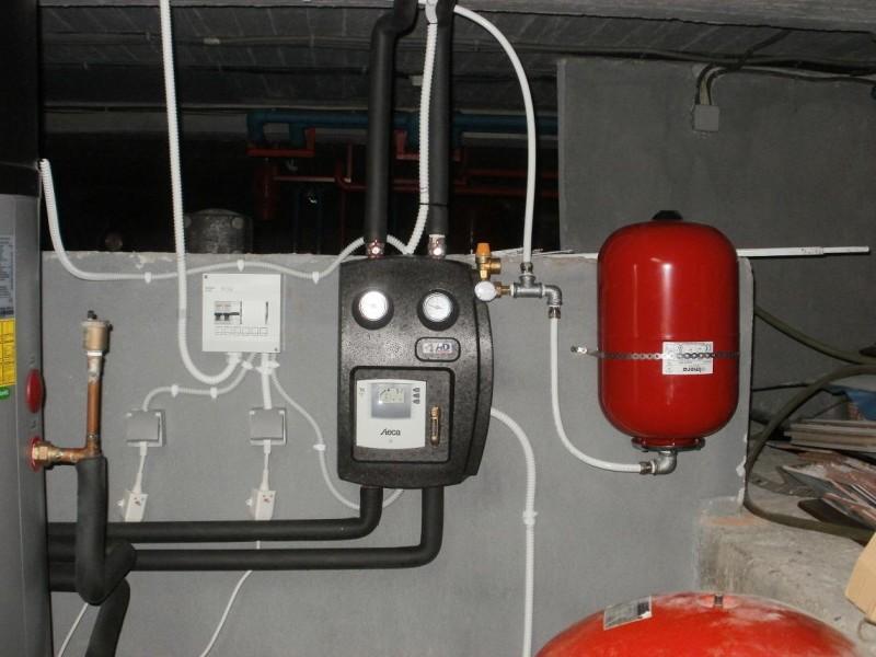 boiler με αντλια θερμοτητας & κιτ ηλιακών