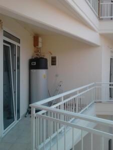 Το μπόιλερ με αντλία θερμότητας εξασφαλίζει ζεστό νερό χρήσης με τη μικρότερη δυνατή κατανάλωση ενέργειας