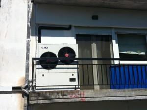 Αντλίες θερμότητας αέρος-νερού χαμηλών θερμοκρασιών στα Γρεβενά εγκατεστημένες σε σώματα καλοριφέρ