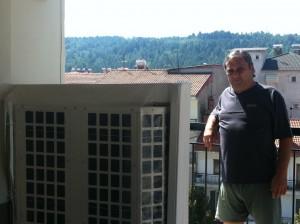 Απόλυτα ικανοποιημένος από την θέρμανση κα την εξοικονόμηση ενέργειας που του παρείχε η αντλία θερμότητας ADTHERM δηλώνει ο Μιχάλης Παλάσκας από τα Γρεβενά