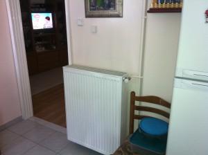 Επαρκή ενέργεια για την θέρμανση των καλοριφέρ τύπου πάνελ παρείχε η αντλία θερμότητας χαμηλών θερμοκρασιών ΚΚ