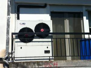 Αντλία θερμότητας 17 ΚW στα Γρεβενά, στο διαμέρισμα του Γιώργου Πασσιά