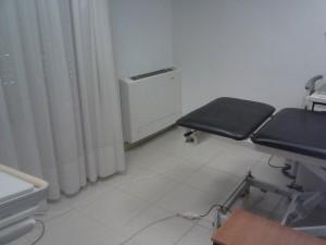To fan coil που τοποθετήθηκε στον χώρο του εξεταστηρίου στο ιατρείου