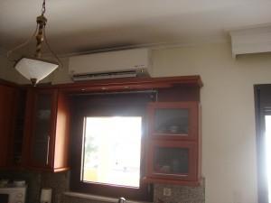 Το inverter κλιματιστικό των 24.000 btu στην οικία του κ. Διονύση Κοσυβά