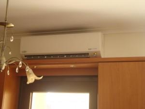 Το inverter κλιματιστικό των 24.000 btu στην οικία του κ. Δημήτρη Παπαδόπουλου