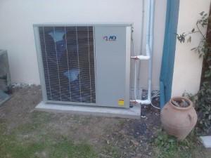 Αντλία θερμότητας POLARIS 17 ΚW σε οικία 200 τ.μ.