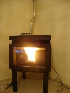Το αερόθερμο ενεργειακό τζάκι πέλλετ Intervo