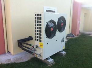Η αντλία θερμότητας χαμηλών θερμοκρασιών ASGREEN 25 KW στην οικία του κ. Βασίλη Χρήστου στο Άργος Ορεστικό