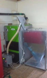 Λέβητας πέλλετ 100 KW στα Λαγυνά