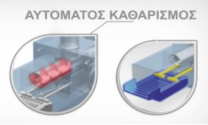 αυτοκαθαρισμός καυστήρα sp πελλετ βιομάζας
