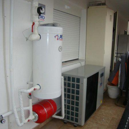 Αντλία θερμότητας 9 KW στην Κατερίνη