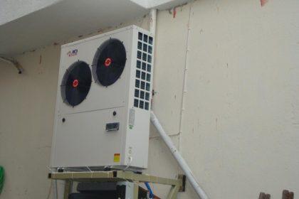 Αντλία θερμότητας 17 KW σε σώματα καλοριφέρ στην Κατερίνη