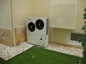Αντλία θερμότητας 13 KW στη Νέα Έφεσσο Πιερίας