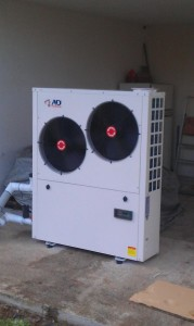 Αντλία θερμότητας ADGREEN 17 ΚW στον Πρίνο Τρικάλων