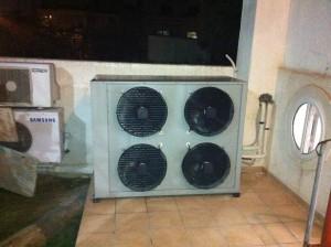 Αντλία θερμότητας υψηλών θερμοκρασιών POLARIS 30 KW