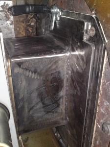 Καυστήρας πέλλετ ADGREEN 100 KW σε κυκλοθερμικό φούρνο αρτοποιείου