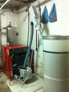 Καυστήρας ADGREEN Β-ΕCO 45 ΚW στην οικία του κ. Βασίλη Παχή στην Καρίτσα