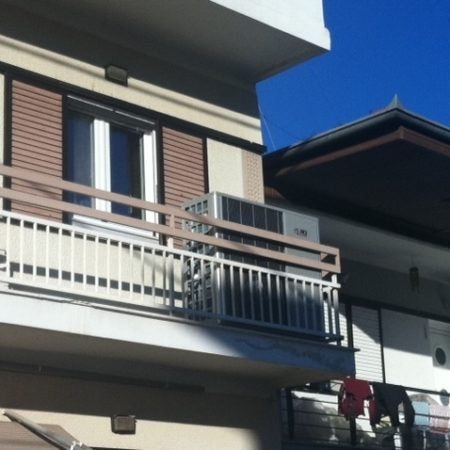 Εγκατάσταση με Αντλία θερμότητας υψηλών θερμοκρασιών POLARIS 13 ΚW στα Τρίκαλα