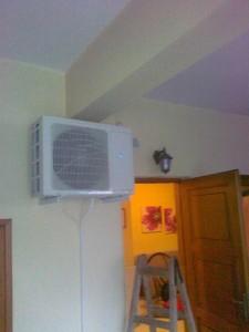 Inverter A/C 12.000 Βtu στην οικία του κ. Νίκου Μπέλλη