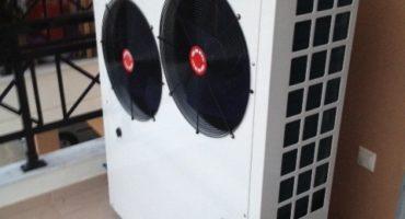 Αντλία θερμότητας ADGREEN 17 KW σε σώματα καλοριφέρ στην Αλεξανδρούπολη