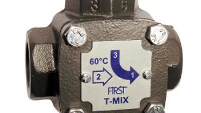 Τρίοδη θερμοστατική βαλβίδα μείξης T-MIX