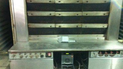 Καυστήρας πέλλετ ADGREEN 100 KW σε κυκλοθερμικό φούρνο αρτοποιείου στο Διδυμότειχο