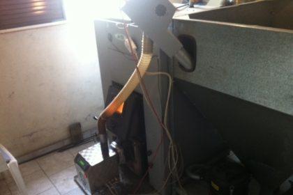 Λέβητας πέλλετ ADGREEN 120 ΚW στην Ορεστιάδα