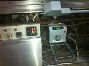 Καυστήρας ADGREEN 100 KW σε κυκλοθερμικό φούρνο