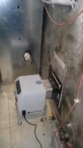 Καυστήρας πέλλετ σε κυκλοθερμικό φούρνο αρτοποιείου