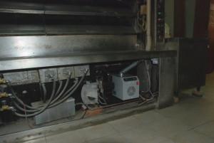 εγκατάσταση καυστήρας πέλλετ σε φούρνο