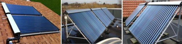 Ηλιακοί συλλέκτες κενού adtherm