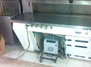 καυστήρας πελλετ σε κυκλοθερμικό φούρνο