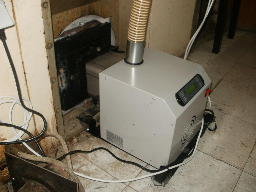 Καυστήρας πελλετ σε φουρνο