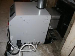 καυστήρας πελλετ σε φούρνο