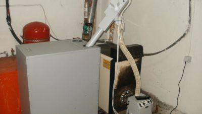 Καυστήρας πέλλετ σε λέβητα πετρελαίου στην Κατερίνη