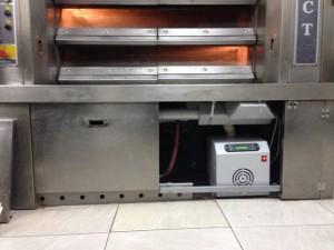 Καυστήρας πέλλετ σε κυκλοθερμικο φούρνο