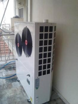 Εγκατάσταση αντλία θερμότητας ΚΚ σε σώματα καλοριφέρ στα Τρίκαλα