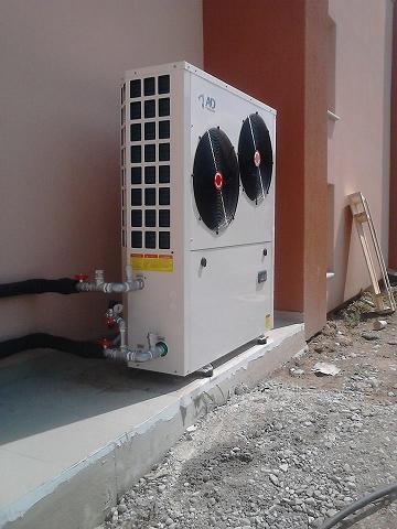 Αντλία θερμότητας για παραγωγή θέρμανσης και ψύξης