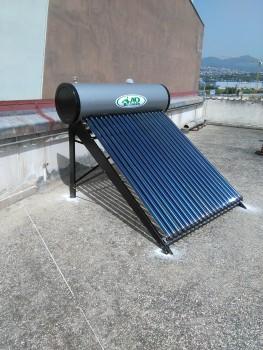 Ηλιακός με συλλέκτη κενού στην Καλαμαριά