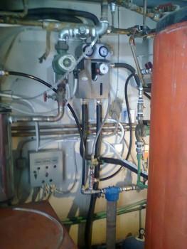 Σύστημα για παραγωγή ζεστού νερού χρήσης σε ξενοδοχείο