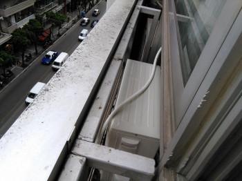 Εγκατάσταση κλιματιστικού σε γραφείο στη Θεσσαλονίκη