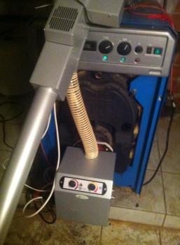 καυστηρς b-mix σε λέβητα betone
