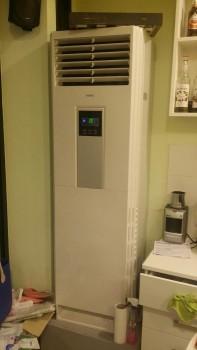 Κλιματιστικά μηχανήματα σε παιδότοπο στην Κατερίνη