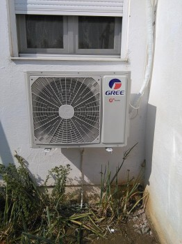Κλιματιστικό μηχάνημα στη Λαγόραχη Πιερίας