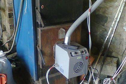 Προσαρμογή καυστήρα πέλλετ – βιομάζας σε λέβητα ξύλου στο Αμύνταιο Φλώρινας