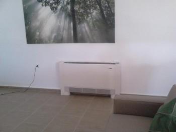 Fan coil σε σπίτι στην Καλλιθέα Πιερίας