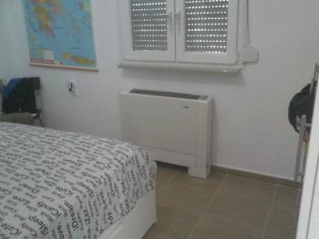 αντλία θερμότητας και fan coil σε μονοκατοικία