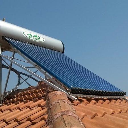 Εγκατασταση ηλιακόυ θερμοσίφωνα